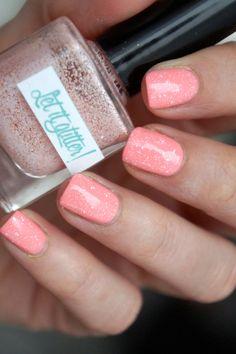 Glitter nail polish - Blossom