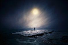 Incredible Full Moon Photo Series by Mika Suutari