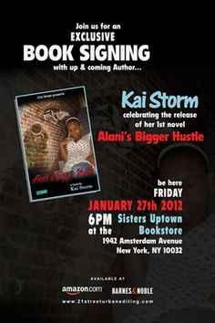 Poster I did for an Author and good friend of mine, Kai Storm..