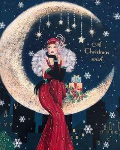 Мобильный LiveInternet Art Deco Lady... Новогоднее... | OLIVA4KA - Дневник OLIVA4KA |