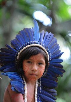 "AMAZONIAN PEOPLE ""Child of the Forest"""