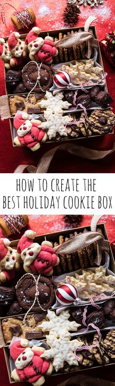 How to create the best Holiday Cookie Box