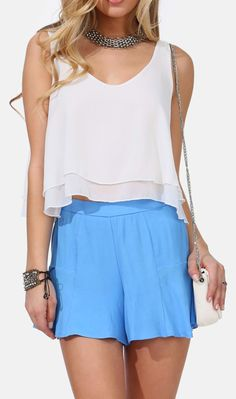 Easy Breezy Crop Top
