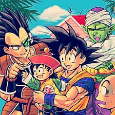 If Raditz would of been a good uncle, he'll be having a greatest day spending time with Goku on earth