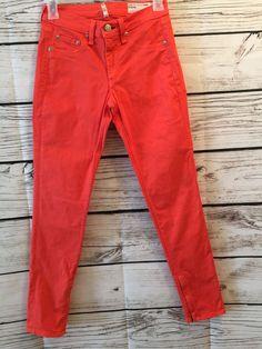 Rag and Bone Jeans Size 25 Zipper Capri   | eBay