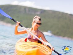 """It's great to experience new adventures once in a while. If you haven't tried to go kayaking, maybe it's time that you give it a spin. If you are wondering, """"Is kayaking good for you?"""", then you are in for a treat! Learn about the mental health benefits of kayaking and more! #HealtBenefitsOfKayaking #PhysicalBenefitsOfKayaking #MentalHealthBenefitsOfKayaking Mental Health Benefits, Kayak Rentals, New Adventures, Kayaking, Physics, Island, Learning, Spin, Kayaks"""