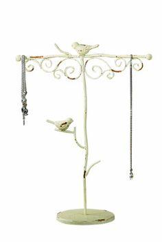 Creative Co-op Cottage Chic Decorative Metal Jewelry Holder with Birds Creative Co-op http://www.amazon.com/dp/B001DYJYS6/ref=cm_sw_r_pi_dp_xUYLub1ZG8850