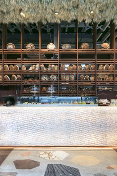 It's Italian for fucking BEAUTIFUL. We look inside the new Amano eatery: Bakery Interior, Restaurant Interior Design, Shop Interior Design, Retail Design, Bakery Shop Design, Cafe Design, Store Design, Lounge Design, Bar Lounge