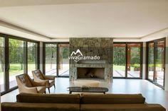 Casa alto padrão em Gramado - Lareira