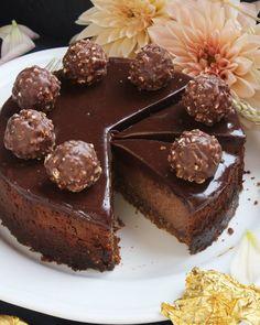 Nutellás sajttorta | Ízből tíz Sweet Recipes, Cake Recipes, Vegan Recipes, Cheesecakes, Cake Cookies, Health Eating, Nutella, Oreo, Breakfast Recipes