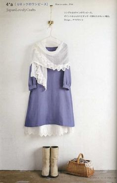 Kawaii Clothes for Women Japanese Sewing by JapanLovelyCrafts, $23.50