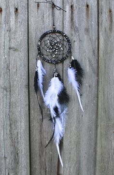 Car Dreamcatcher Small Dream Catcher Black by VagaBoundPeople, $19.50
