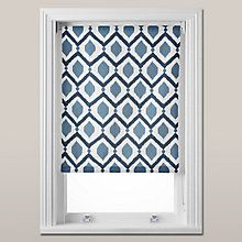 Buy John Lewis Indah Daylight Roller Blind, Indigo Online at johnlewis.com