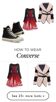 """""""490"""" by myswag1617 on Polyvore featuring Converse"""