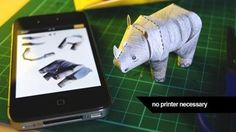 Tiny Paper Zoo | fun and awesome crafting app for kids