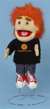 People Puppets, Glove Puppets, Red Hair, Ronald Mcdonald, Basket, Boys, Fictional Characters, Red Hair Weave, Baby Boys