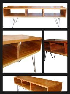 Muebles on pinterest mesas tapas and metal shelving units for Patas de muebles de madera