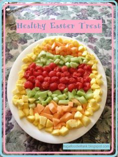 http://frugalfoodiefrank.blogspot.com/2014/04/healthy-easter-treat.html  Want an Easter Breakfast Addition that wont make you feel so bad about eating that chocolate bunny? Try this healthy fruit easter egg!