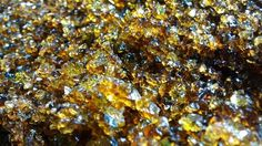 "Glass Fish Tank Gravel ""Chocolate Diamonds"" 100% Recycled Rough finish 4 Lb appx…"