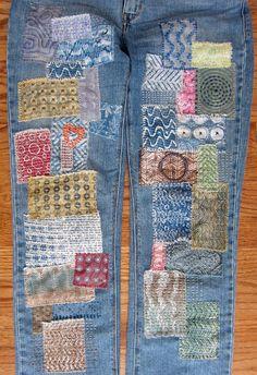 Printing with Gelli Arts®: DIY Gelli® Printed Fabric Patches!