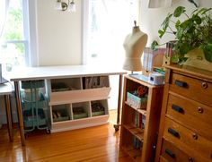 where I sew - sewing room tour