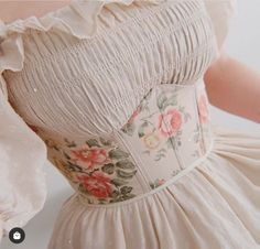 Pretty Outfits, Cute Outfits, Corset Sewing Pattern, Vintage Corset, Vintage Wear, Fast Fashion Brands, Underbust Corset, Corset Belt, Aesthetic Clothes