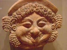 Medusa Antefix (roof ornament) depicting Medusa Greek South Italy late 6th century BCE terracotta