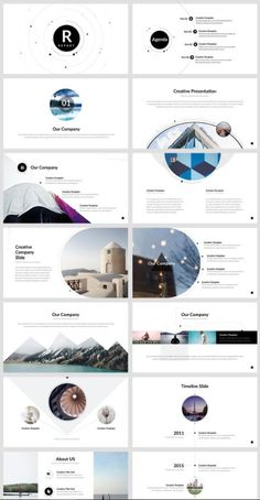 Buy Report - PowerPoint Presentation Template by on GraphicRiver. Graphic Design Layouts, Brochure Design, Layout Design, Design Design, Design Posters, Presentation Design Template, Presentation Layout, Booklet Design, Powerpoint Design Templates