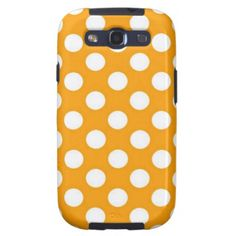 Finding great tech accessories is easy with Zazzle. Shop for phone cases, speakers, headphones, USB flash drives & more. Galaxy S3 Cases, Tech Accessories, Usb Flash Drive, Polka Dots, Phone Cases, Artists, Orange, Creative, Gifts