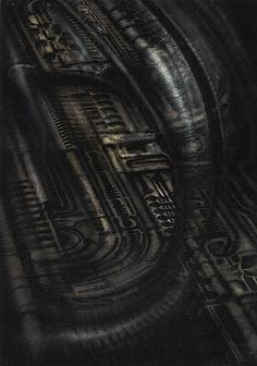 Biomechanical landscape is one of artworks by Hans Rudolph Giger. Artwork analysis, large resolution images, user comments, interesting facts and much more. Hr Giger Art, Makes Me Wonder, Sci Fi Horror, Visual Effects, Black Heart, True Beauty, Dark Art, Illustration, Fantasy Art
