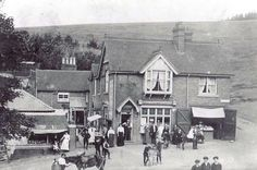 The tea rooms at the Lickey Hills in the early 1900s