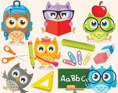 Image result for school owl clip art