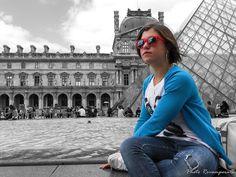 ...Parigi, il Louvre e Francesca...