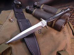 Cool Knives, Knives And Tools, Knives And Swords, Boot Knife, Trench Knife, Knife Art, Metal Projects, Knife Sharpening, Fixed Blade Knife