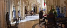 The Palace Hotel do Bussaco - Coimbra - Portugal Hotel Portugal, Palace Hotel, Santa, Home, Goth Style, Ad Home, Homes, House