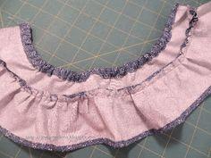 Joy's Jots, Shots & Whatnots: Ruffled Skirt for 18 Inch Doll ~ Free Pattern