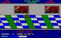 Metro-Cross Atari ST