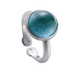 a9c189790587 Anillo Jardín Encantado Cuarzo London Blue y plata de Duran Exquse. Una  pieza mágica que llama la atención. Cómpralo online hoy.