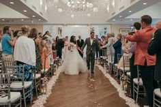 You can walk down the aisle in style for your Florida destination wedding at Longboat Key Club!