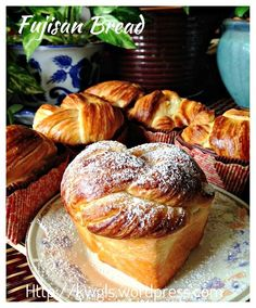 Unsure If It Is From Holland or Denmark &hellip ;. Danish Pastry Loaf (丹麦吐司条)And Fujisan Bread (富士山面包):