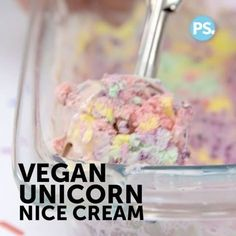 "Vegan unicorn ice cream made with simple, clean ingredients: strawberries, blueberries, mango, coconut cream and vanilla. Must try! Vegan Fitness & Nutrition Ⓥ (@veganbodybuilding) on Instagram: "" Here's a delicious (healthy) snack to enjoy this summer! _ Vegan Unicorn 'Nice Cream' _ ProTip:…"""
