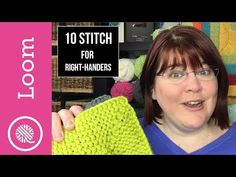 It's back and better than ever! The loom knit Ten Stitch Blanket pattern is easier then ever with a new written pattern and videos for both left and right handers. Come on, loom knitters, let's knit 10!