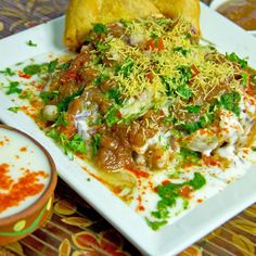 Samosa Chaat - Chat Patta Corner - Zmenu, The Most Comprehensive Menu With Photos