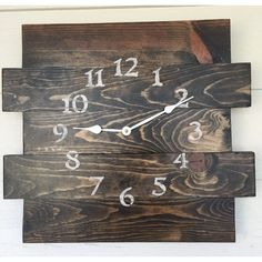 Hang this distressed wall clock above the mantel to create an eye-catching focal point, or let it be the stylish anchor for your dining room sideboard or entryway console.