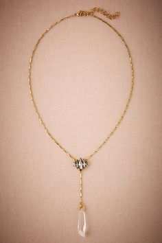 Crystal Lacrame Necklace - anthropologie.com