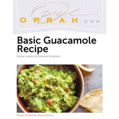 ... Basic-Guacamole-Recipe. And don't forget purchase your own copy of