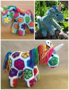 Get the—>African Flower Crochet Unicorn Pattern by Heidi Bears This beautiful unicorn was made by fleurdelys516 on Ravelry with the pattern! Or if you don't know how to crochet…you can buy it already pre-made on Etsy by LineandLoops—>African Unicorn Crochet Plush Make sure to follow Crafty Morning on Facebook, Pinterest, and Instagram or subscribe to our Weekly …