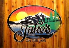 Jake's on the Lake at Tahoe City, CA (Lake Tahoe!)