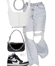 Cute Casual Outfits, Retro Outfits, Simple Outfits, Girly Outfits, Teen Fashion Outfits, Look Fashion, Tomboy Fashion, Aesthetic Grunge Outfit, Aesthetic Clothes
