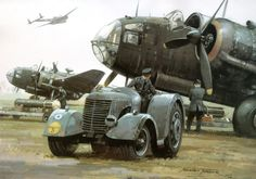 Handley Page Hampden by Michael Turner